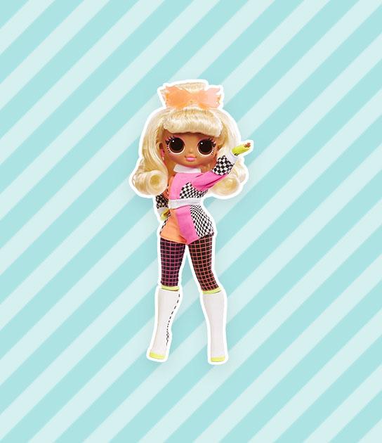 lol omg lights speedster fashion doll