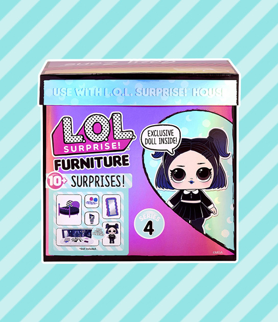 lol furniture cozy zone with dusk doll